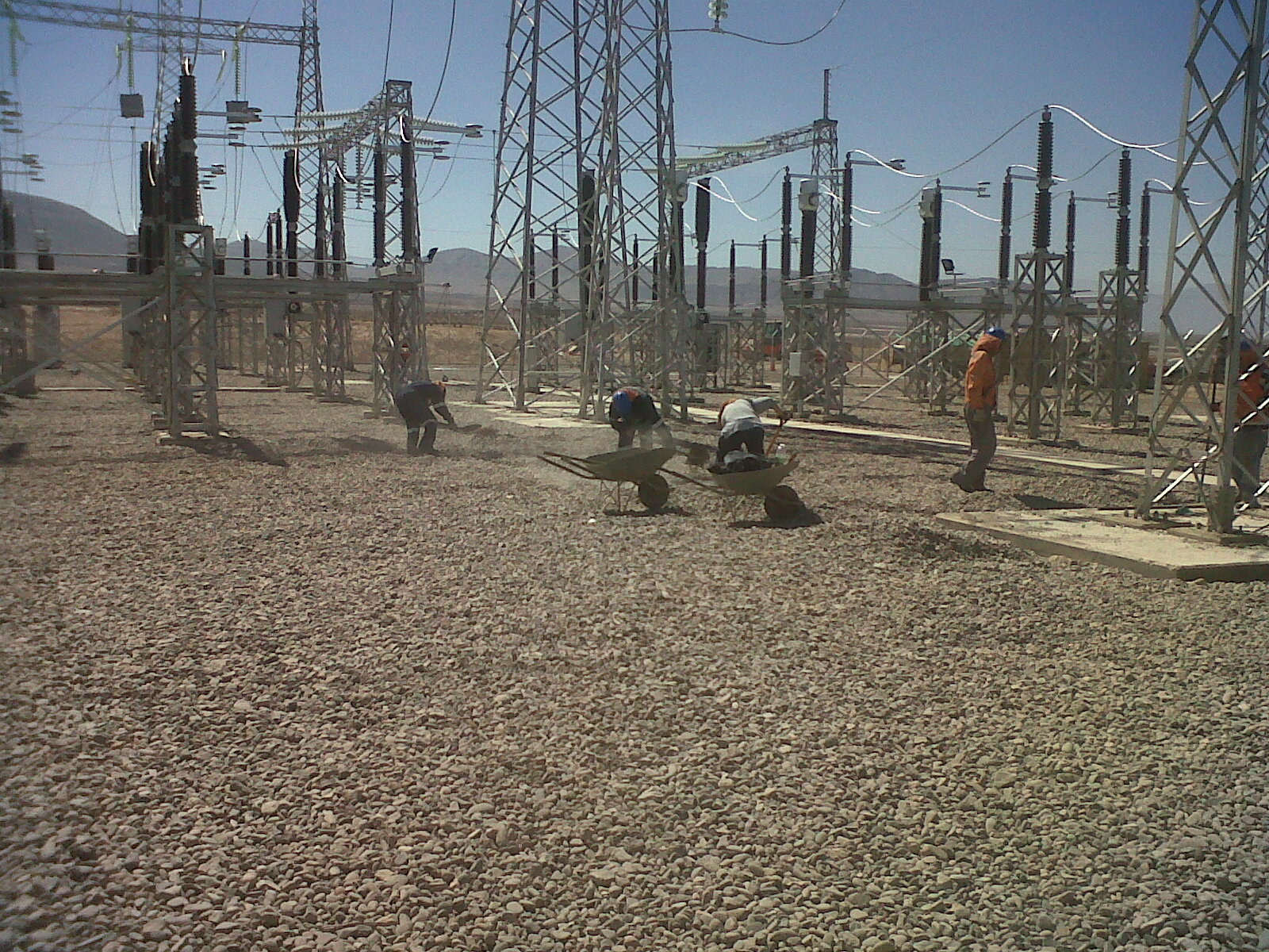 San Andres PV Plant Substation