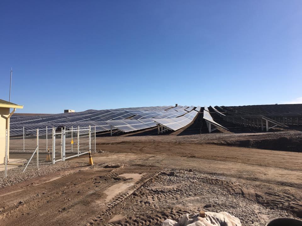 Los Loros PV Plant